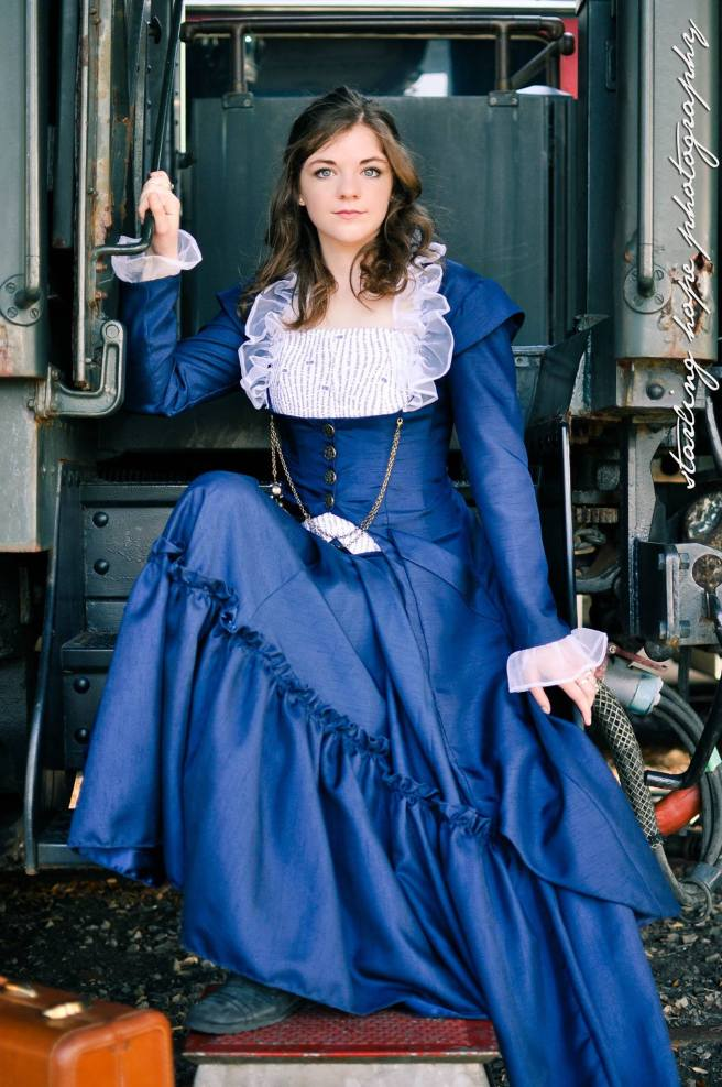 Taken at the Galveston Railroad Museum.  Photo by Starling Hope Photography.