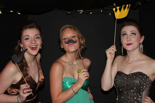 Nathan McCall was the official photographer at the dance.  He ran the photo booth and took candids of the actual dance.  Here are Jami and her friends Meagan and Rachel.