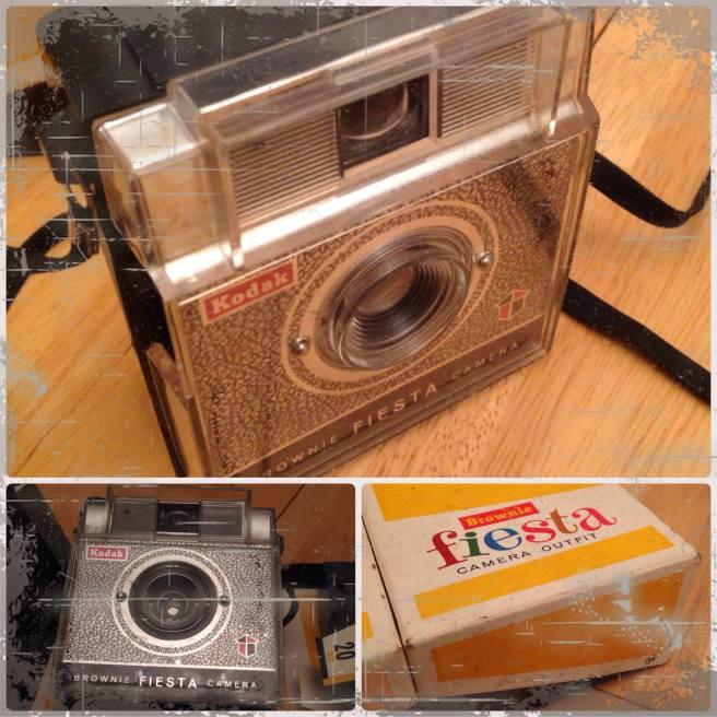 "Kodak Brownie ""Fiesta"" Camera"
