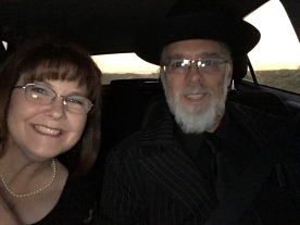 My date was supposed to look like a 1920s' mobster, but everyone who sees this photo asks if he's Amish?